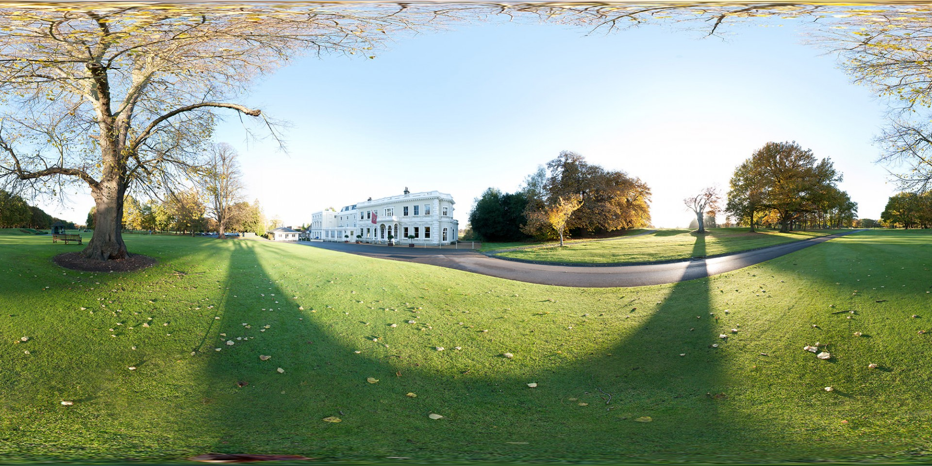 Burhill Golf Club. Click here to view panoramic image.